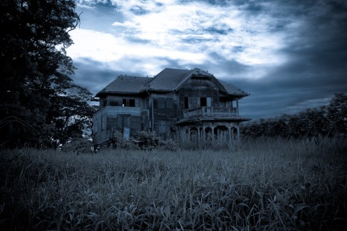 distressed house 1